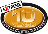 Betafence guarantee 10x years