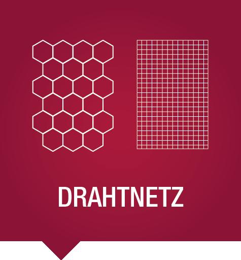 Drahtnetz: multifunktionales Zaungeflecht